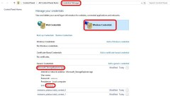 Azure Storage Explorer - Credential Manager