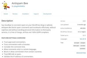 AntiSpam Bee Comments Invalid Security Token