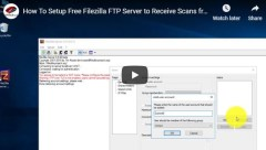 Setup FTP Server to Receive Documents from Ricoh Scanner