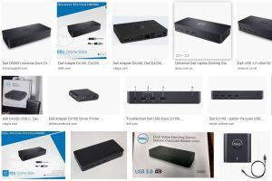 Dell D3100 D1000 D6000 DA100 Docks