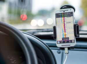 cell map gps car