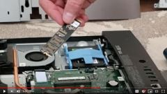 Dell Inspiron 5477 AIO Upgrade From SATA to Crucial P1 M2 NVME SSD Drive - Disassembly Benchmark