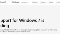Windows 7 Enf of Life