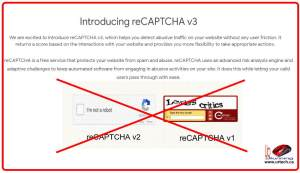 what is recaptcha ve3