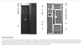 Dell Precision T7920 Ports