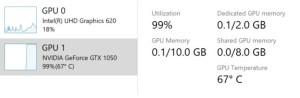 graphics card temperature windows 10