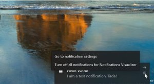 notifications in windows 10 - turn off