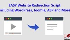 easy website redirection script after timer