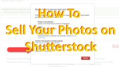 how to sell your photos on shutterstock