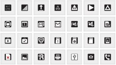 Android icons explained