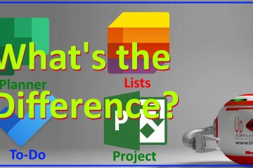 Microsoft Lists vs ToDo vs Planner vs Project Whats the Difference