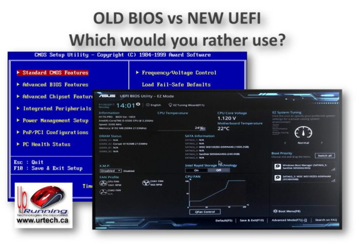 old bios vs new uefi - which would you rather use