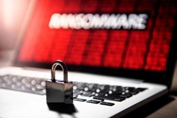 ransomware lock laptop