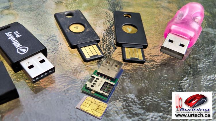 yubikey nitrokey inside smart card chip