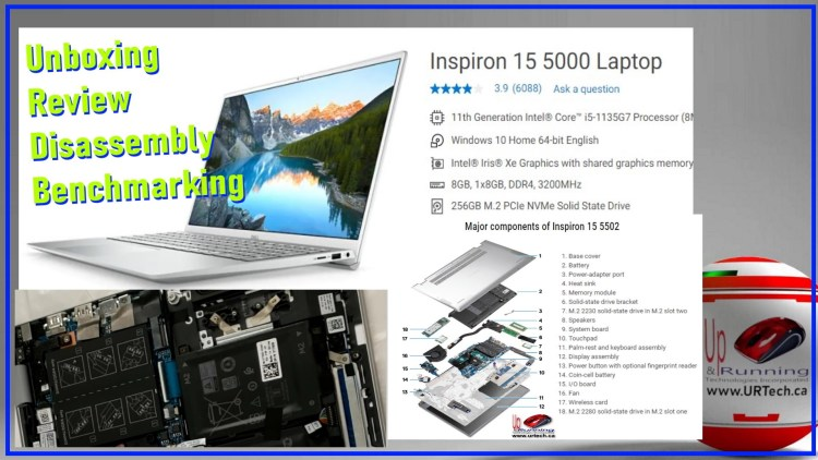 dell inspiron 15 5000 5502 unboxing disassembly review benchmarking