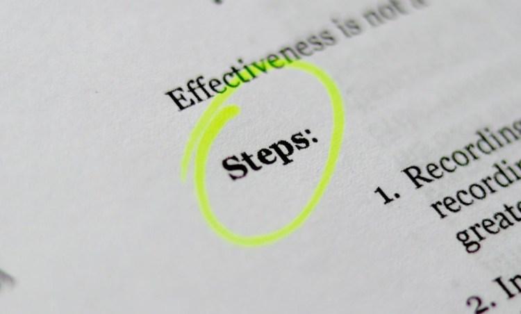 effectiveness steps brads guideline