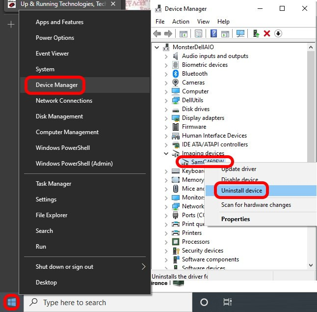 how to remove hardware devices using device manager
