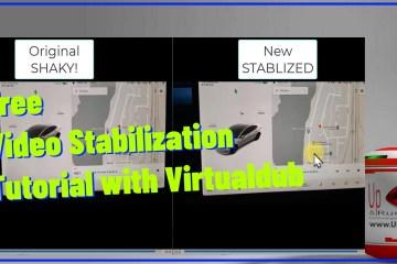 virtualdub video stabilization tutorial
