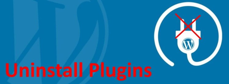 uninstall plugins