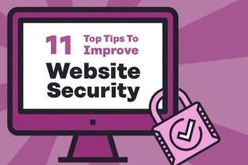 ways to improve website security