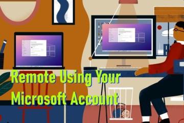 How To Setup Remote Desktop Using A Microsoft Account Windows 10 Windows 11