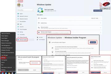 how to join Windows Insider Program on Windows 11