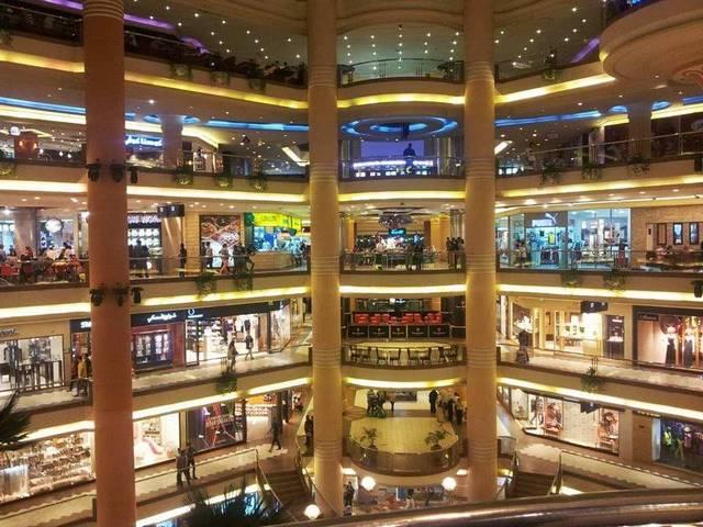 محمع سيتي ستارز اكبر مركز تسوق في القاهرة مصر
