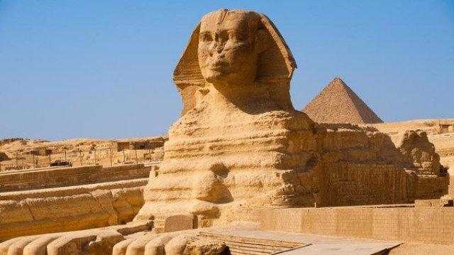ابو الهول من معالم السياحة في القاهرة