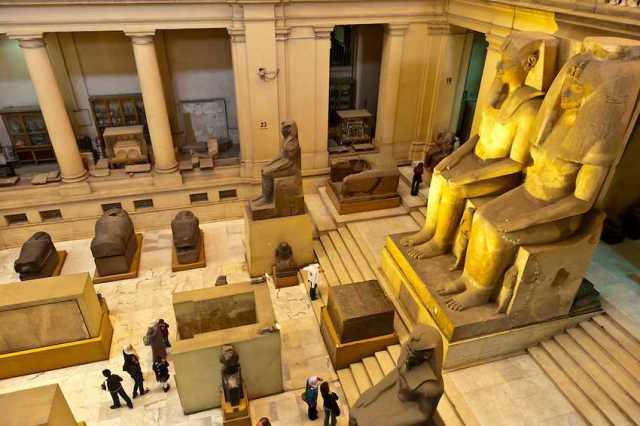 المتحف المصري في القاهرة يعد من اهم متاحف القاهرة مصر