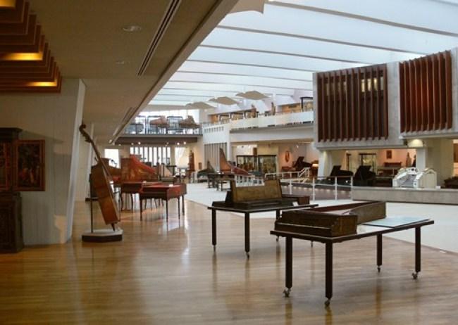 متحف الآلات الموسيقية في مدينة برلين المانيا