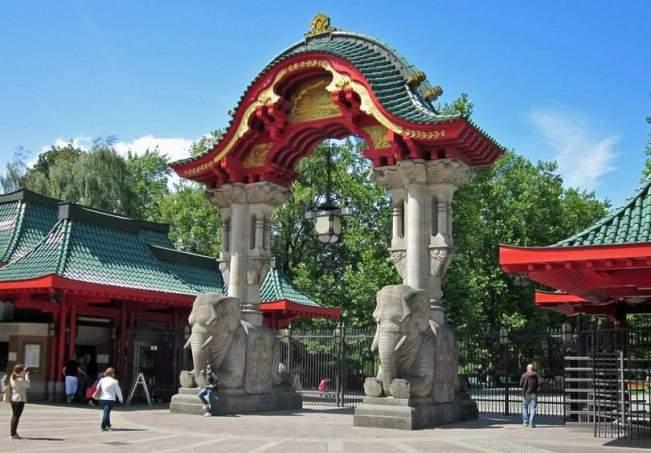 حديقة حيوان برلين من اهم حدائق مدينة برلين المانيا