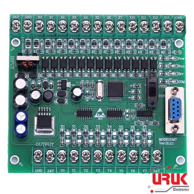 PLC Board 12 Input 8 Output STM32 MCU   UrukTech