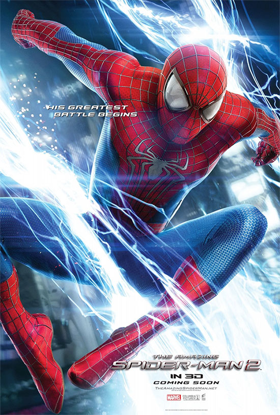 Un nuevo cartel de The Amazing Spider-Man: el poder de Electro
