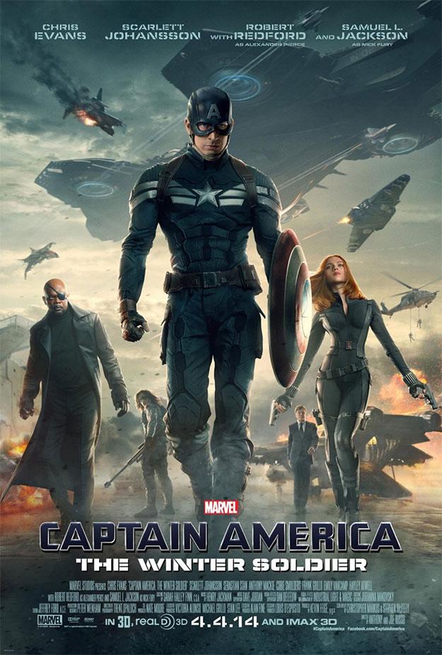 El último cartel visto de Capitán América: el Soldado de Invierno