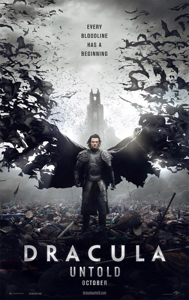 Y otro cartel más de Drácula: la leyenda jamás contada