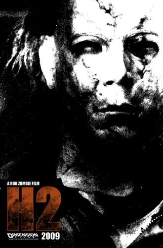Póster de H2 de Rob Zombie
