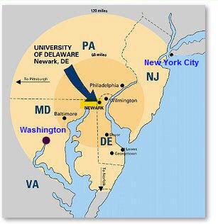 德拉威大學 University of Delaware密集英文. 學英文最好的環境. 離紐約市90分鐘. 離費城30分鐘. 德拉瓦大學. 特拉華 ...