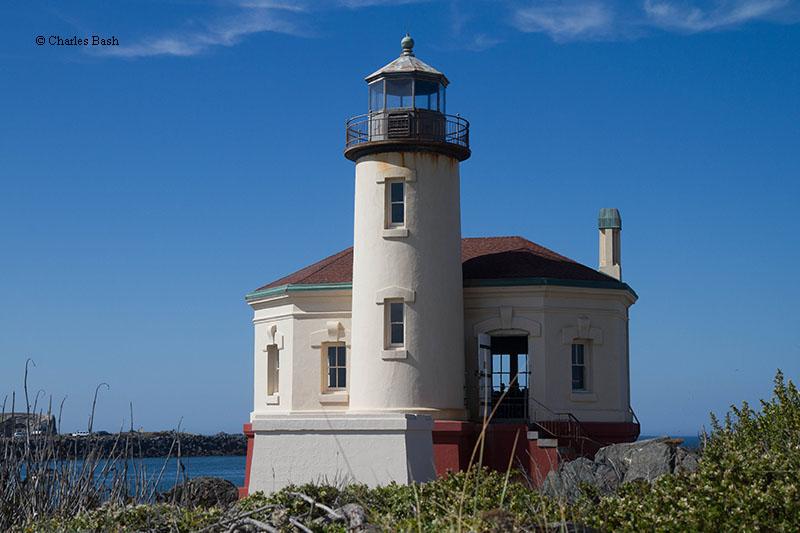 Coquille Bandon River Lighthouse  Bandon Oregon