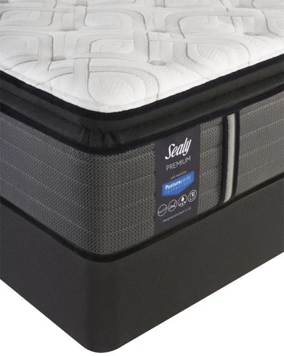 Queen Sealy Posturepedic Response Premium Warrenville Iv Cushion Firm Pillow Top Mattress