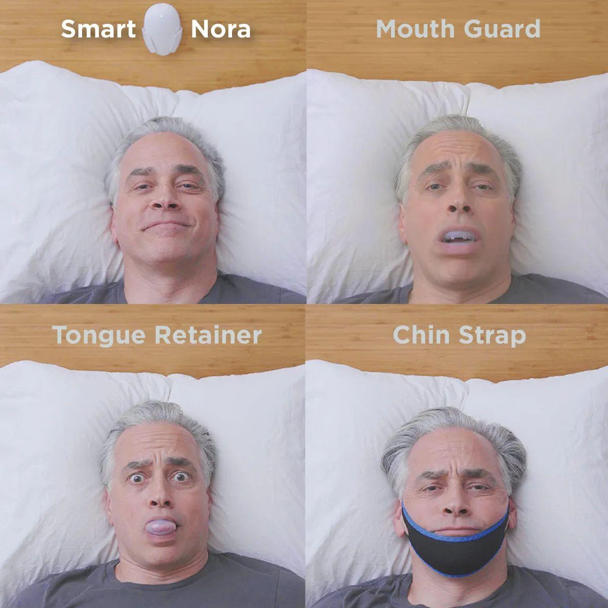 smart nora snoring solution