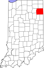 Allen County, Indiana places and people
