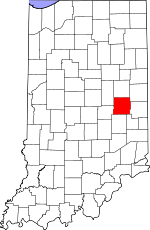 Henry County, Indiana places and people