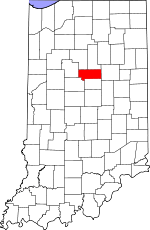 Howard County, Indiana places and people