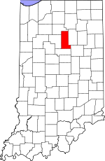 Miami County, Indiana places and people
