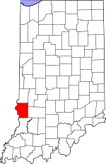 Sullivan County, Indiana places and people