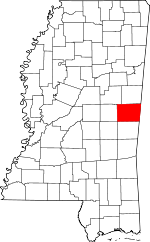 Kemper County, Mississippi places and people