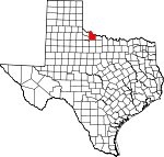 Wilbarger County, Texas places and people