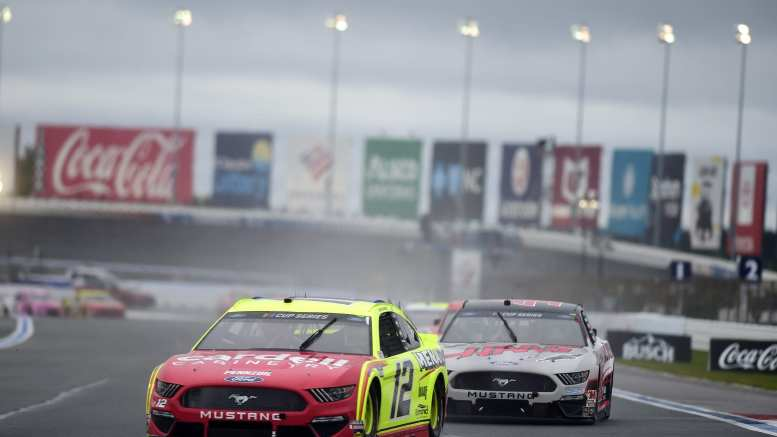 Ryan Blaney en pole du Busch Clash 2021