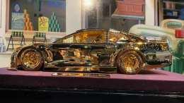 voiture en or 24 carats Chase Elliott