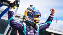 Romain Grosjean en pole à Indianapolis